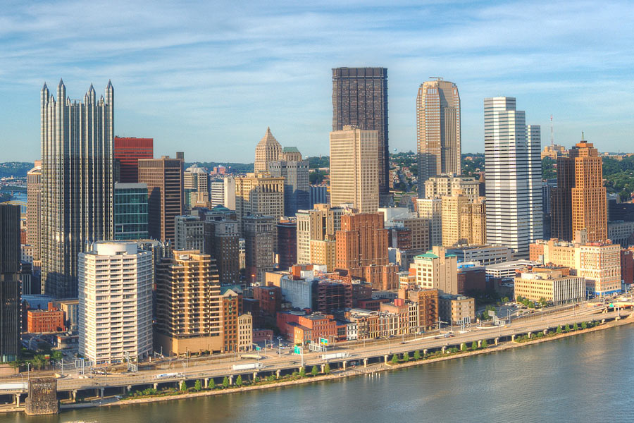 Pittsburgh Cityscape
